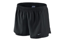 "Nike Women's 3.5"" 2in1 Tempo Short black/reflective silver"
